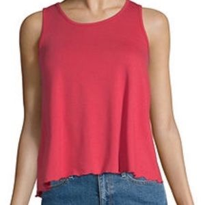 NEW WITH TAG/ Arizona Jean Co. XS red tank